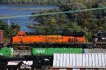 BNSF 7467 on 34A